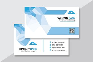 Abstract Business Card V17