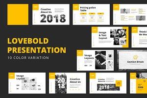 Lovebold Powerpoint Templates