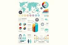 Modern Design Elements Infographic