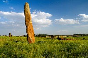ancient Megalith stela field, Axum,