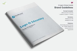 Brand Guidelines 20 Pages