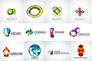 Company logos set