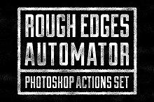 Rough Edges Automator - PS Actions
