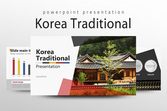 Korea presentation presentation templates creative market toneelgroepblik Image collections