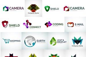 Line vector logos
