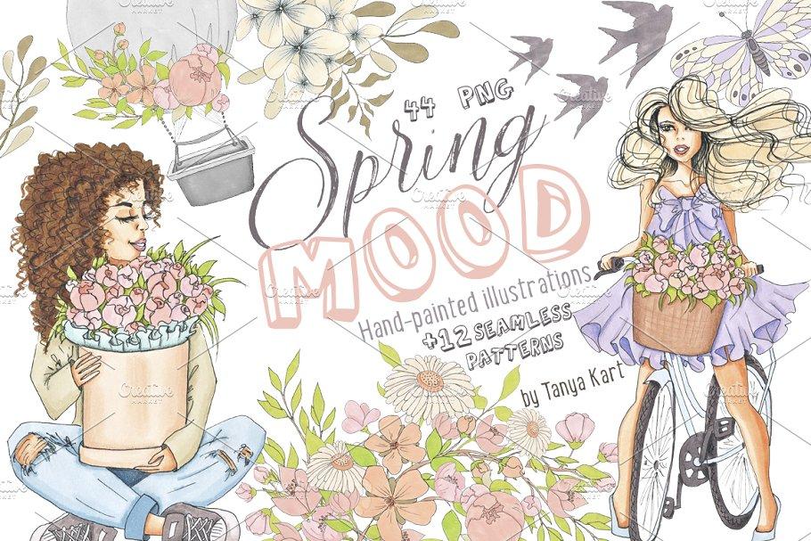 Spring Mood Design Kit