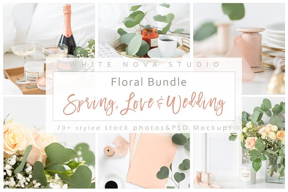 Floral Bundle: Spring Love & Wedding