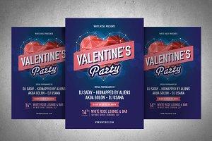 Valentine Poster #2 Ai & Eps