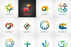 Abstract company designs