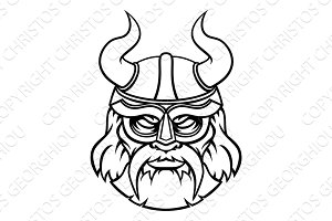 Viking Sports Mascot Character