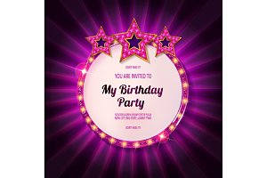 You are invited to a Birthday Party!