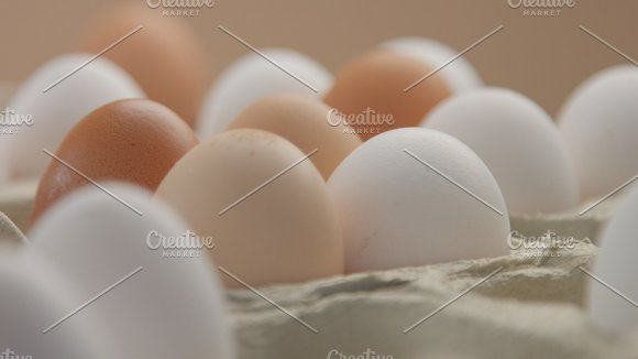 Different Colour Eggs From Different Poultry