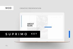 SUPRIMO Keynote Template + Bonus