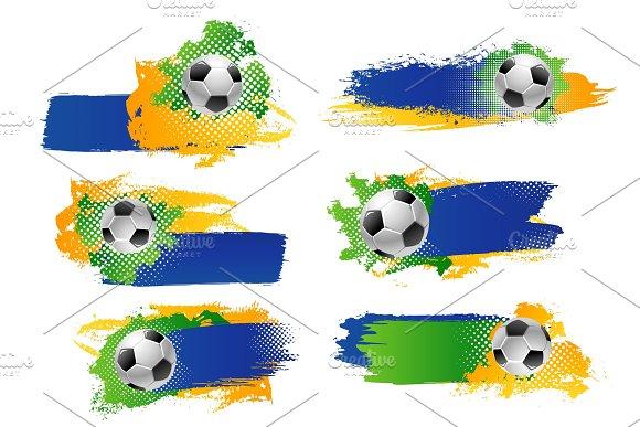 Vector Soccer Football Ball Sport Game Backdrops