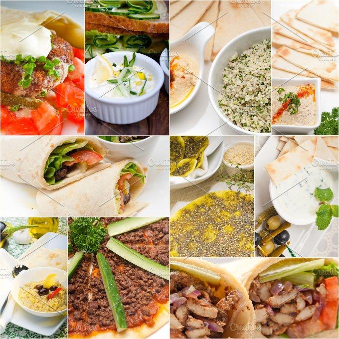 Arab middle eastern food collage 7.jpg - Food & Drink