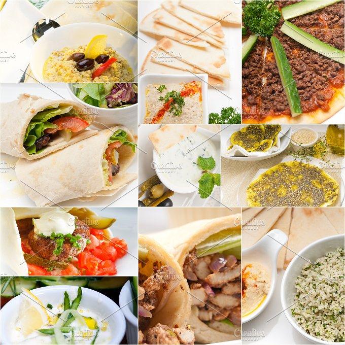 Arab middle eastern food collage 9.jpg - Food & Drink