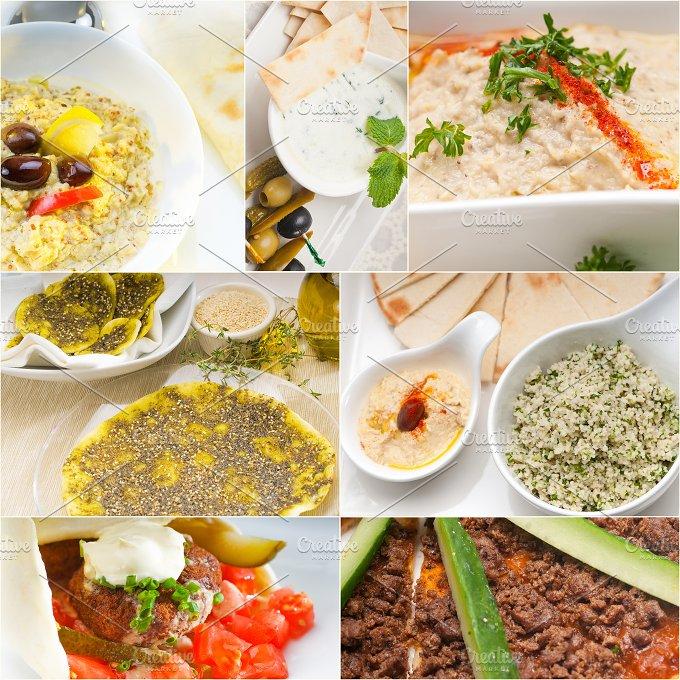 Arab middle eastern food collage 13.jpg - Food & Drink