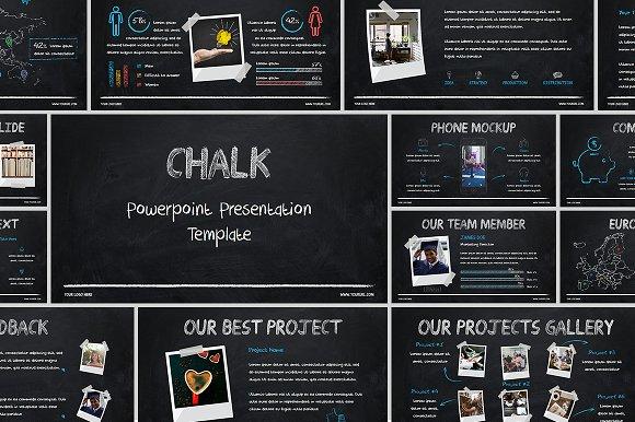 Chalk Powerpoint Template