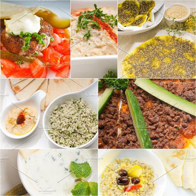 Arab middle eastern food collage 14.jpg - Food & Drink