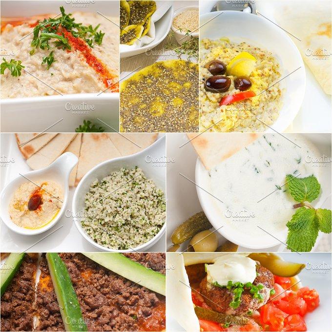 Arab middle eastern food collage 15.jpg - Food & Drink