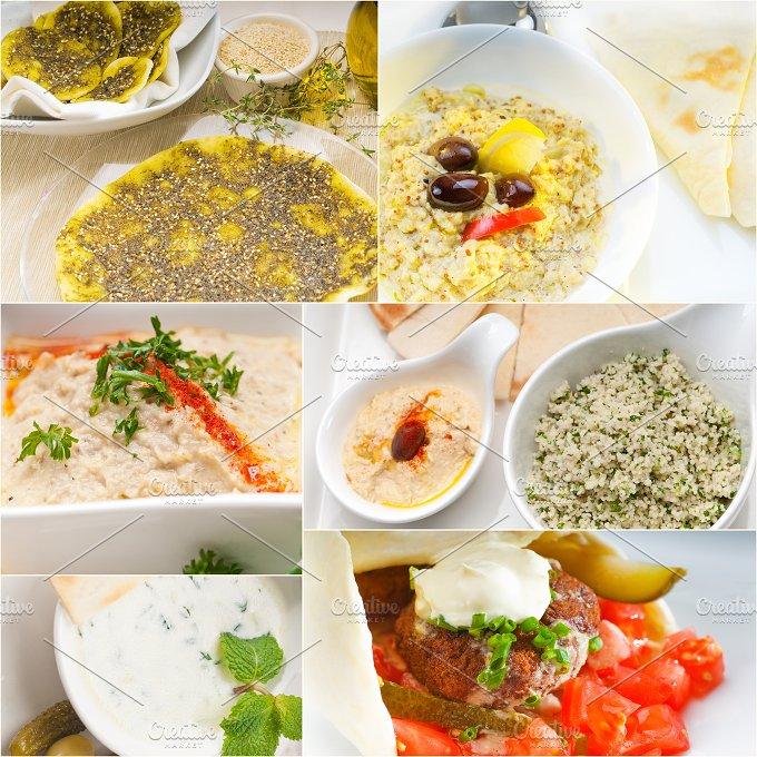 Arab middle eastern food collage 16.jpg - Food & Drink