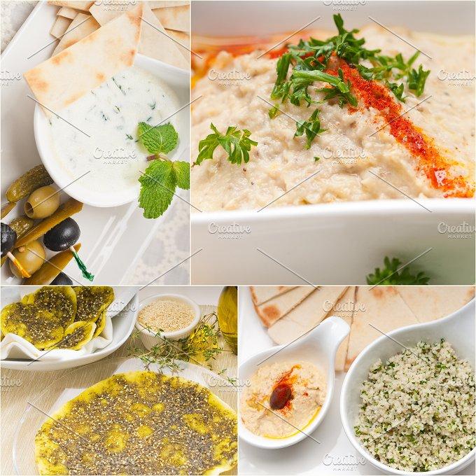 Arab middle eastern food collage 26.jpg - Food & Drink