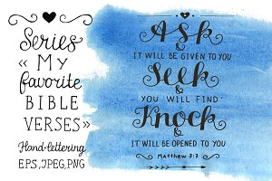 My favorite Bible verses ASK