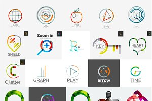 Company logo design elements