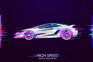 sport car glitch