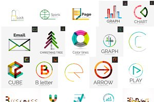 Universal logo icons