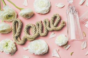 Saint Valentines day frame