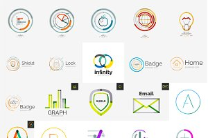 Business company logos