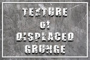 Texture of Displaced Grunge
