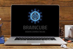 Brain Cube Logo