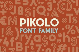 Pikolo Font Family
