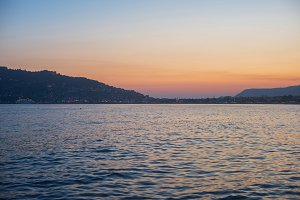 Alanya in the evening