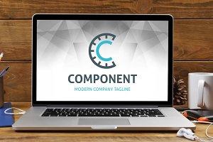 Letter C -Component Logo