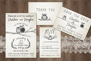 'Owl Always Love You' Wedding Pack
