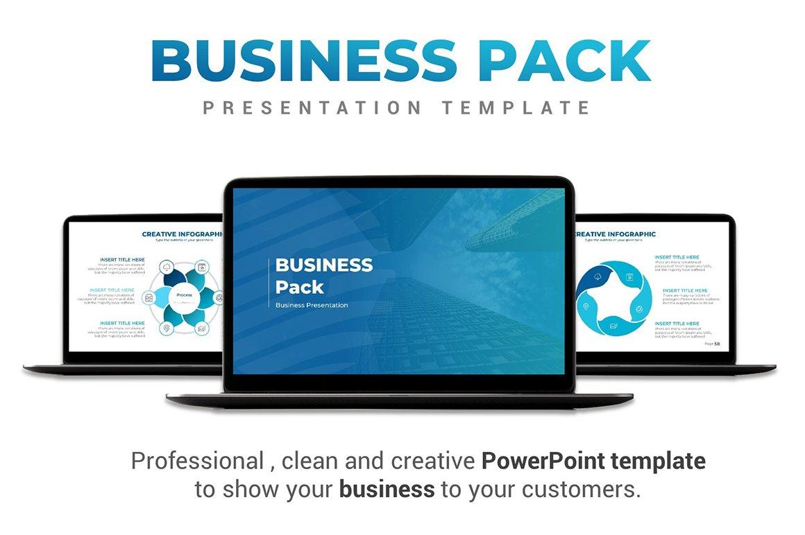 Business pack powerpoint template presentation templates business pack powerpoint template presentation templates creative market toneelgroepblik Choice Image