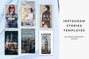 25 Instagram Stories Templates