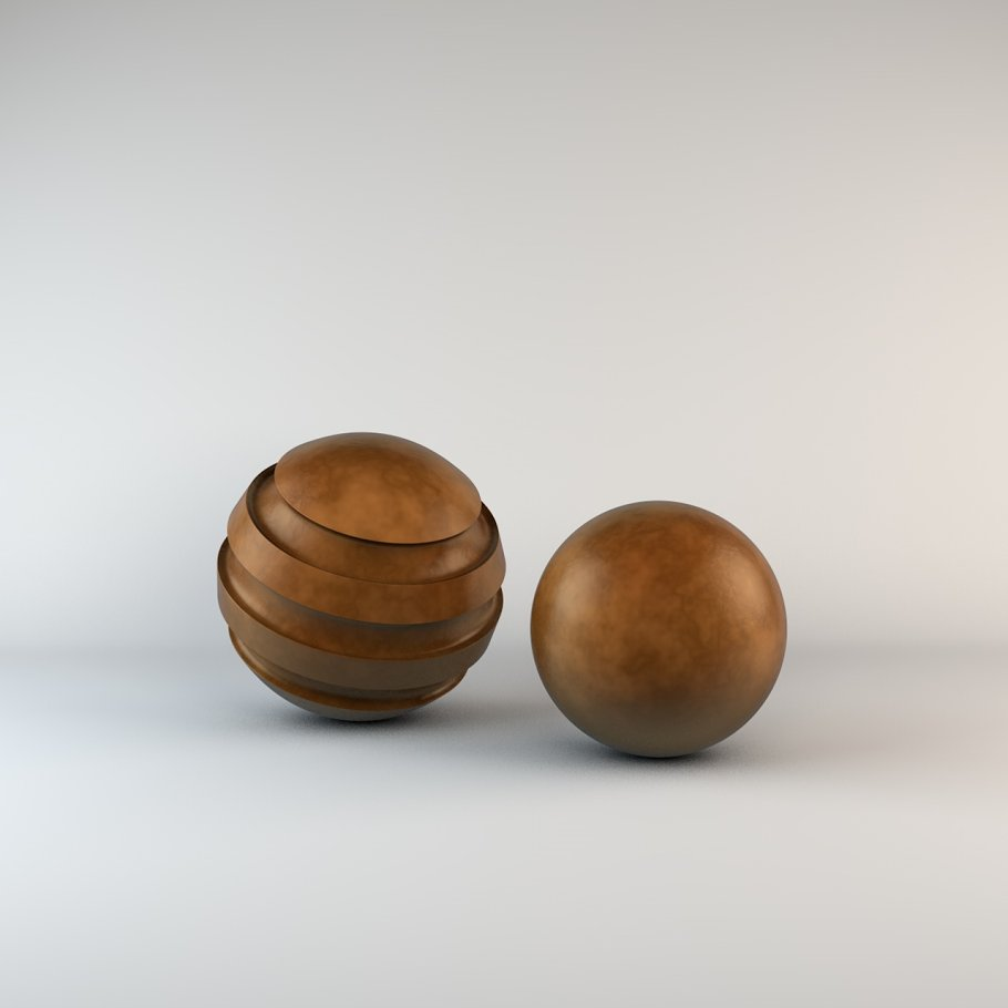 10 Bronze Material Shaders for C4D