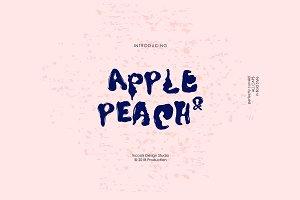 Apple & Peach - Bold