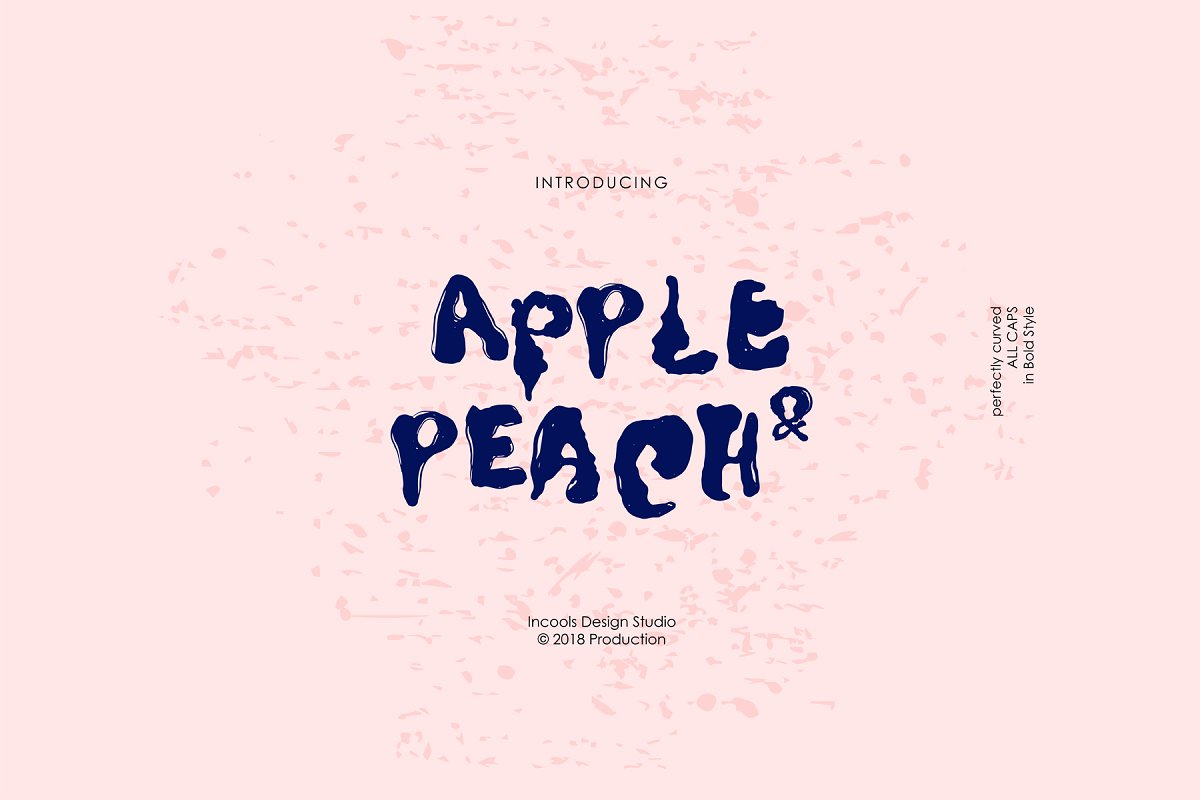 Apple & Peach - Bold ~ Display Fonts ~ Creative Market