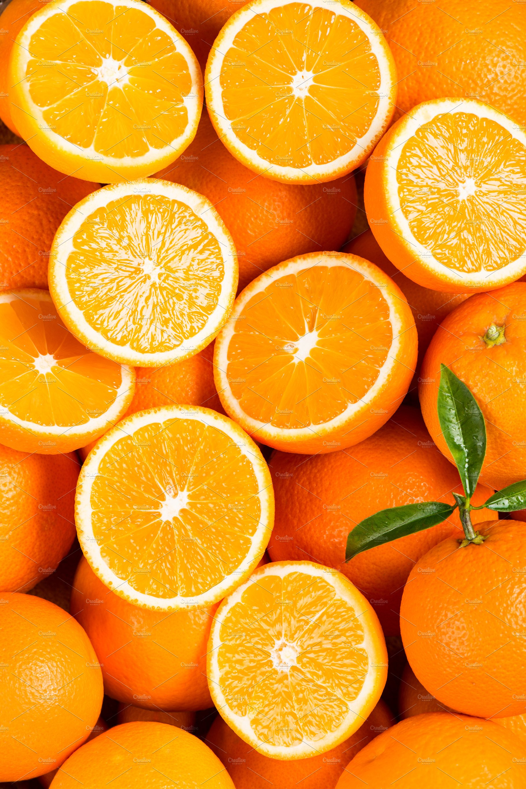 Oranges As The Background High Quality Food Images
