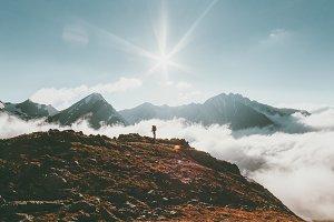 Mountains landscape Travel lifestyle