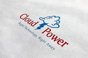 Cloud Power Logo