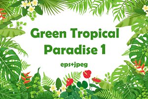 Green Tropical Paradise