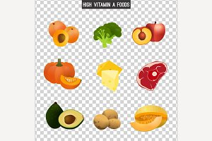 High Vitamin A Foods