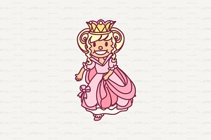 ♥ vector single Little Princess