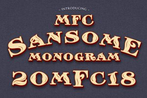 MFC Sansome Monogram